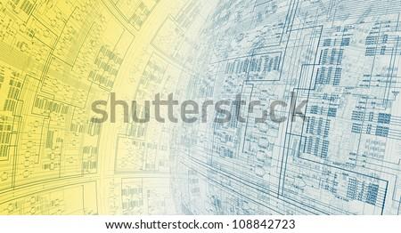 Information Architecture - stock photo