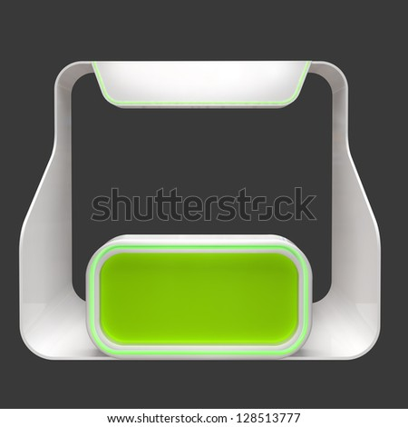information booth - stock photo