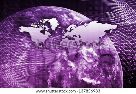 Information Exchange and a Transfer of Knowledge - stock photo