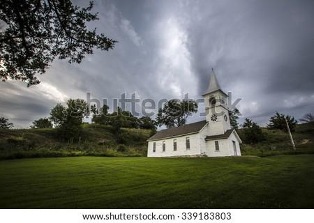 Ingemann Lutheran Church - stock photo