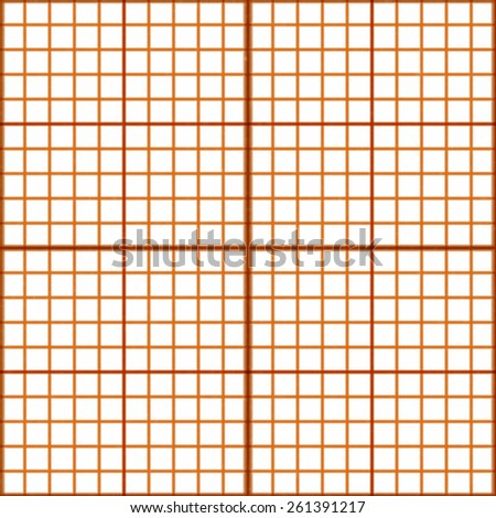 Ingeneering millimeter grid background - stock photo