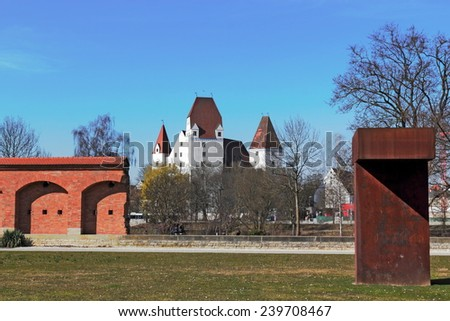 Ingolstadt - stock photo