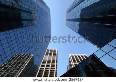 Inner City - stock photo