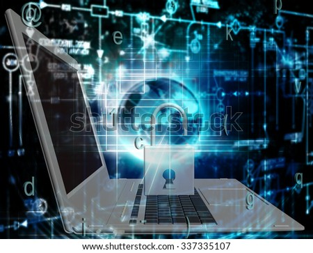 Innovation connection technology.Generation security computer innovation - stock photo