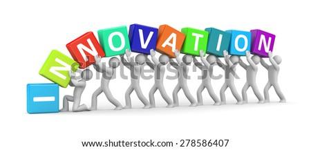 Innovations - stock photo