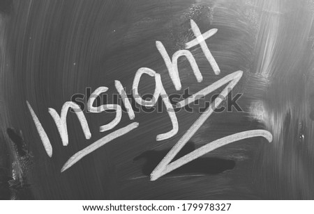 Insight Concept - stock photo