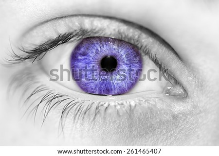insightful look  eyes boy - stock photo