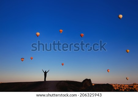 inspiration and travel - stock photo