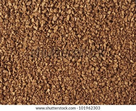 Instant coffee - stock photo