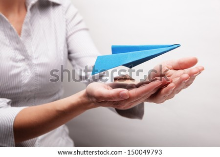 Insurance flights (concept) - stock photo