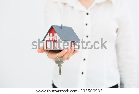 Insurance Home House Protection Protect Concepts - stock photo