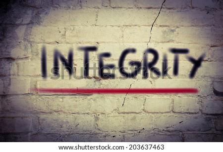 Integrity Concept - stock photo