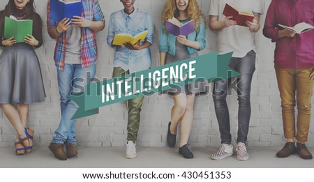 Intelligence Insight Clever Smart Education Knowledge Concept - stock photo