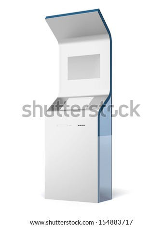Interactive stand - stock photo