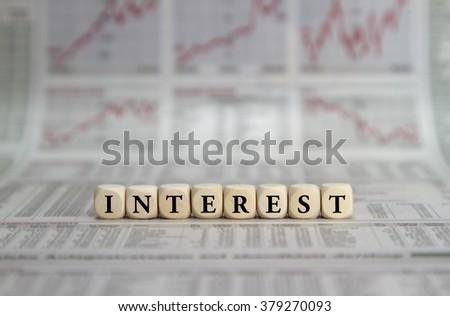 Interest - stock photo