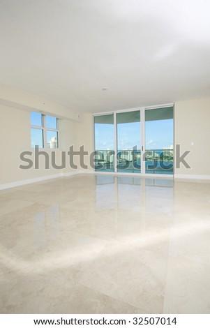 Interior Design blank presentation background - stock photo