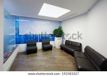 Interior design: Modern Office - stock photo