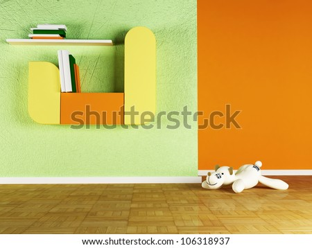 Children room Stock Photos, Illustrations, and Vector Art