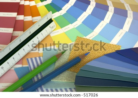 Interior Designing - stock photo