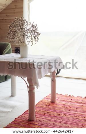 Interior detail - stock photo