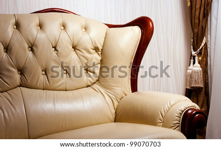 interior for living room - stock photo