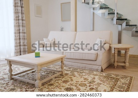 Interior of a hotel room - stock photo
