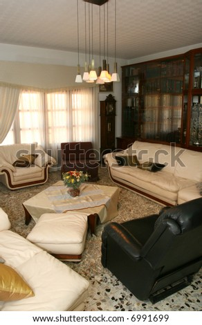 Interior of a room - stock photo