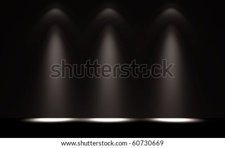 Interior of the background project - stock photo