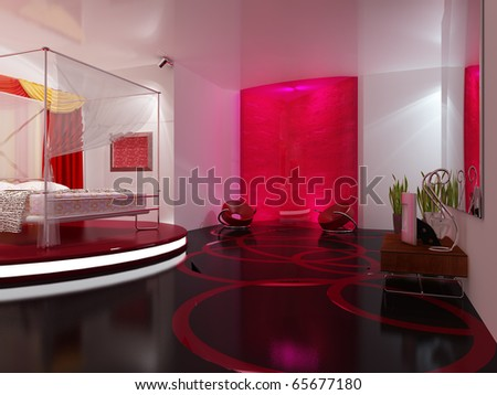 Interior  sleeping - stock photo