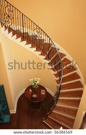 Interior Stairs - stock photo