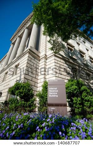 Internal Revenue Service - stock photo