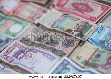 International banknote - stock photo