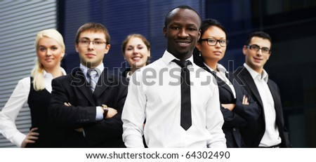 International business team - stock photo