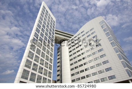 International Criminal Court in The Hague, Holland - stock photo