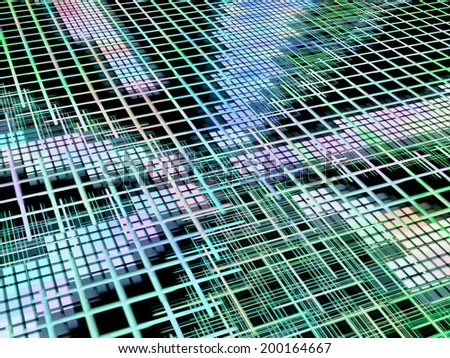 Internet and network concept as abstract background.Digitally generated image. - stock photo