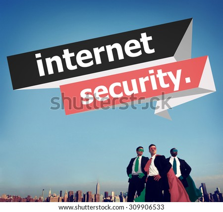 Internet Security Protection Phishing Prevent Protect Concept - stock photo