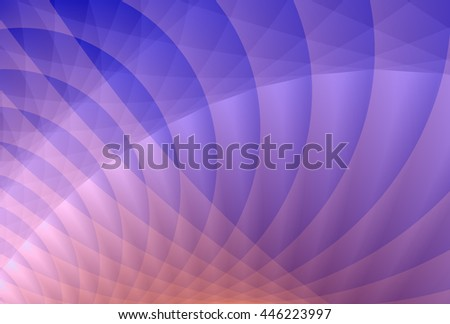 Intricate pink and purple abstract ripple / curve design   - stock photo