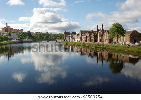 Inverness - stock photo