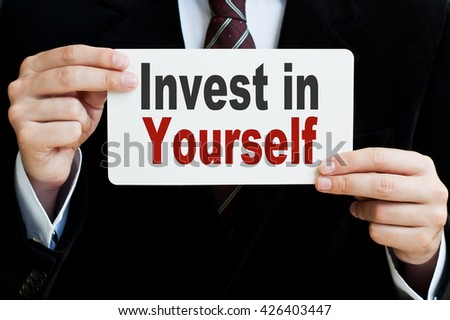 Invest in Yourself - stock photo