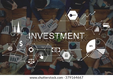 Investment Business Budget Credit Costs Concept - stock photo
