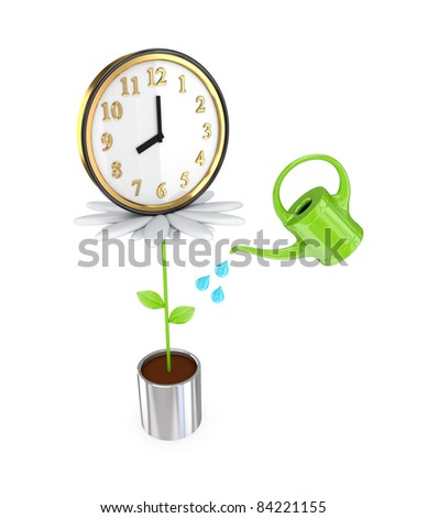 Investment concept. 3d rendered. Isolated on white background. - stock photo