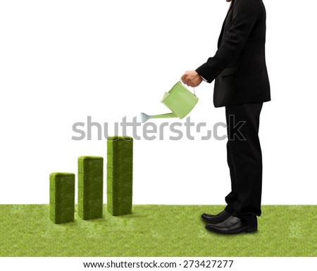 Investment concept, Investor earnings expectation. - stock photo
