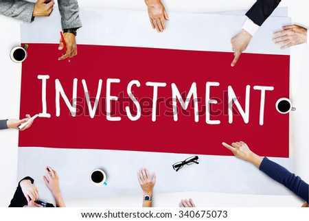 Investment Economy Financial Investing Income Concept - stock photo