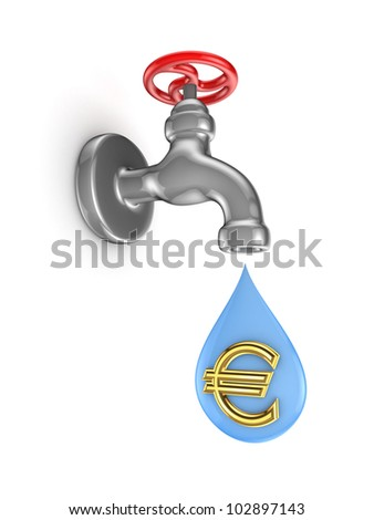Investments concept.Isolated on white background.3d rendered. - stock photo