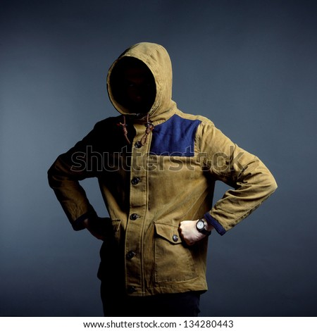 Invisible man - stock photo