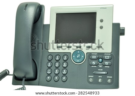 IP Telephone - stock photo