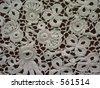 Irish Crochet - stock photo