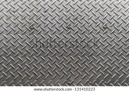 Iron plate texture as background - stock photo
