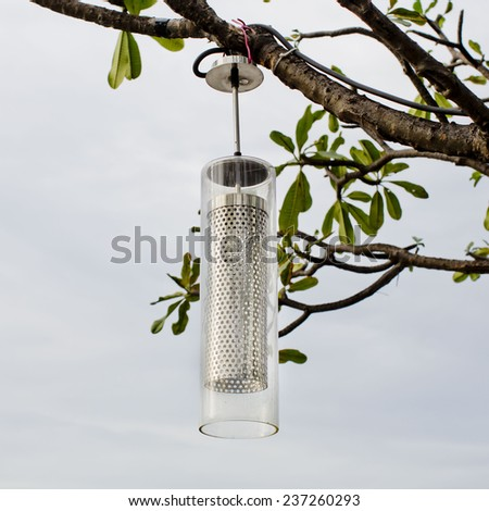 Iron Street Lantern - stock photo