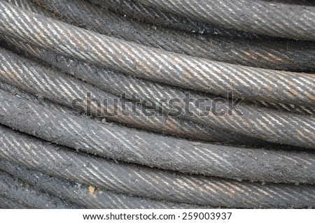 iron wire background - stock photo